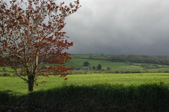 Glasha Farmhouse: View from Glasha