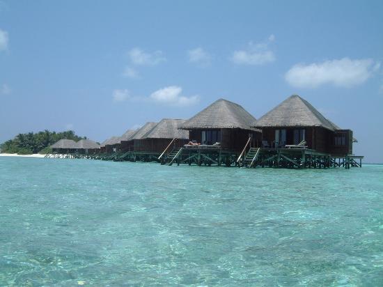 Veligandu Island Resort & Spa: The water villas