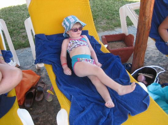Iberostar Varadero: Lounging by the pool