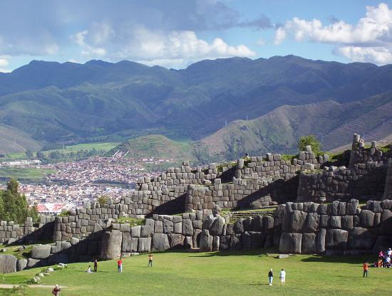 Cusco, Pérou : sacsayhuaman