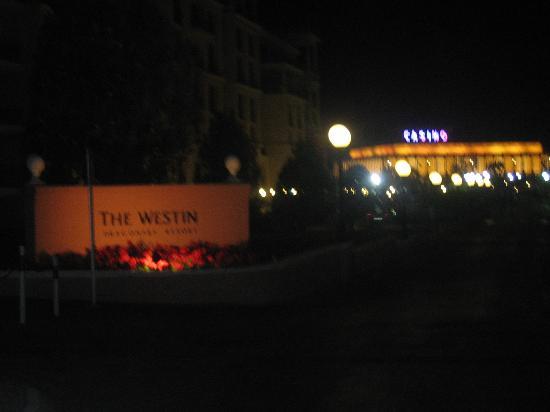 The Westin Dragonara Resort, Malta: Hotel with casino in background