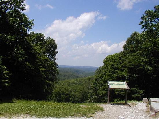 Abe Martin Lodge: View - Brown County State Park