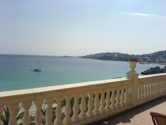 Hotel Nixe Palace : view from the reception balcony