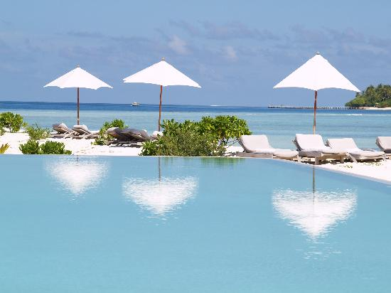 COMO Cocoa Island: The pool
