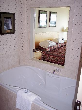 Embassy Suites by Hilton Niagara Falls Fallsview Hotel : Two person jet tub...very nice!