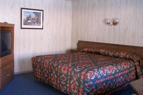 Zion Park Motel : Bedroom