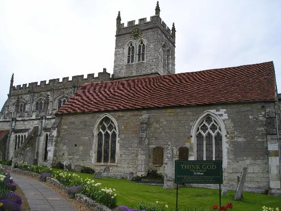 Coughton Lodge Guest House: Wootten Wawen church, possibly oldest in Warwickshire