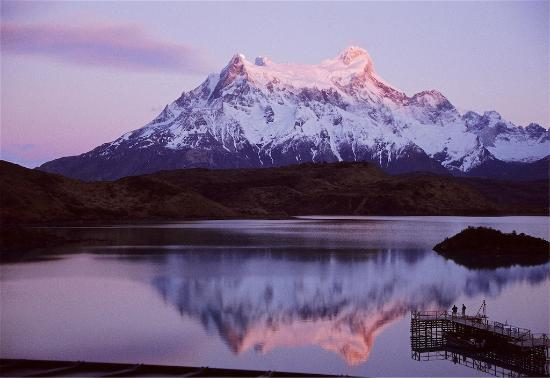 explora Patagonia : The view from the bedroom window
