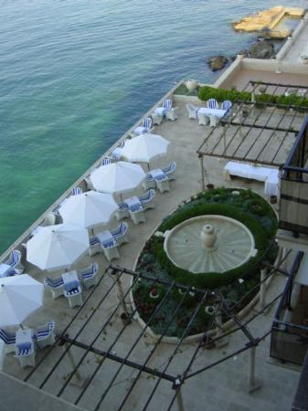 Hotel Excelsior Dubrovnik: view of the terrace