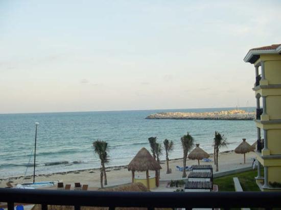 Hotel Marina El Cid Spa & Beach Resort: view from 3 floor balcony