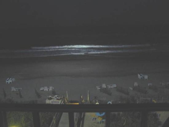 Pine Knoll Shores, Carolina del Norte: Night view