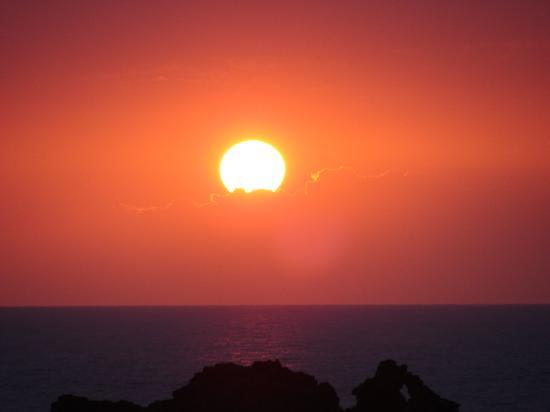 Kaimana Guest House: Miloli'i Sunset