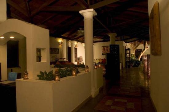 Posada Macanao Lodge: nice lobby (bonito vestíbulo)