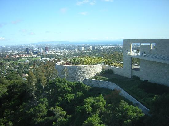 Los Angeles, Kaliforniya: View from the Getty Centre