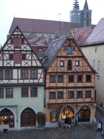 Hotel Gotisches Haus: View from room