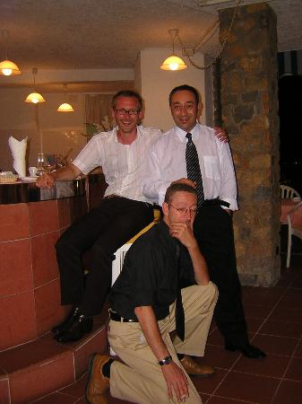 Royal Sporting Hotel: The hotel staff