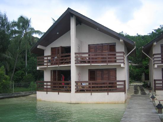 Fatumaru Lodge: View from the jetty