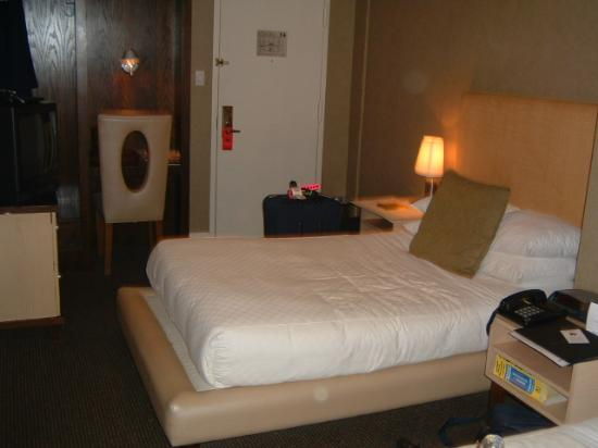 Amsterdam Court Hotel : Deluxe room from one side to the door