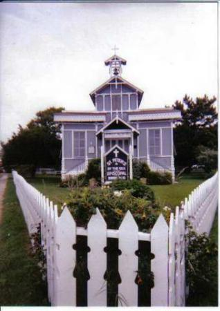 New Jersey: church in Cape May