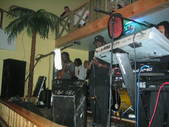 Sun Set Vacation Apartments: Weekend entertainment in Cane Garden Bay at Quito's featuring Quito and The Edge band