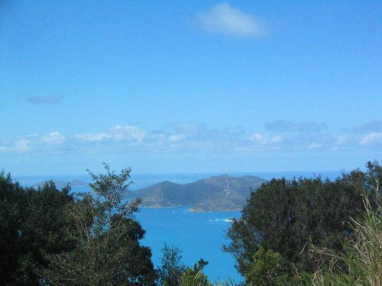 Sun Set Vacation Apartments: View of Jost Van Dyke island from Sage Mt's Mountain View Restaurant