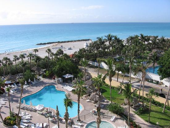 Hotel Riu Plaza Miami Beach: Look from the balcony
