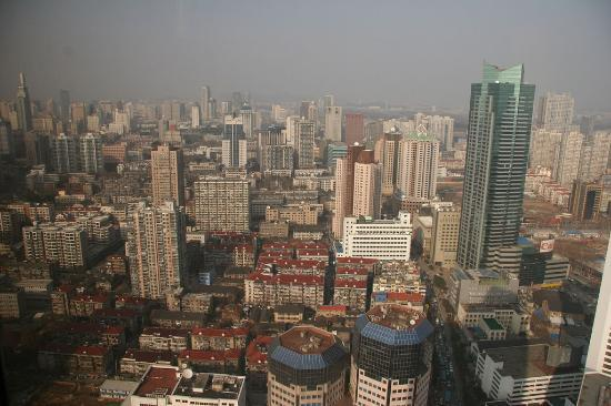 Crowne Plaza Nanjing Hotel & Suites: View from panoramic suite