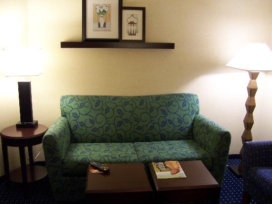 SpringHill Suites Dallas DFW Airport North/Grapevine: Seating Area