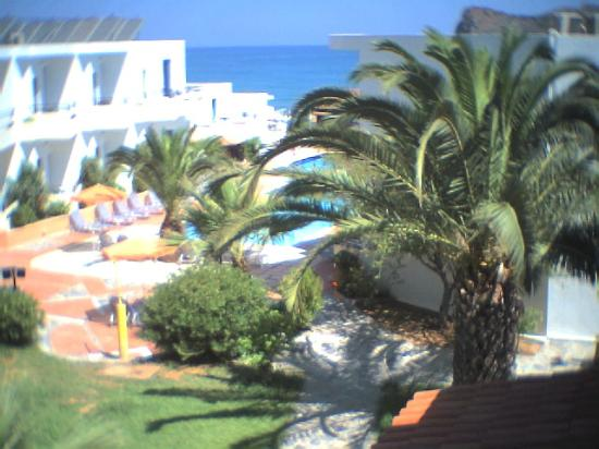 Apladas Apartments : A view of The hotels surroundings