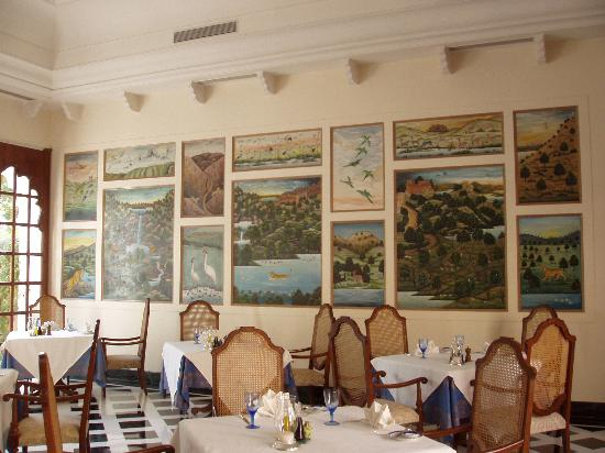 The Oberoi Vanyavilas: The Dining Room