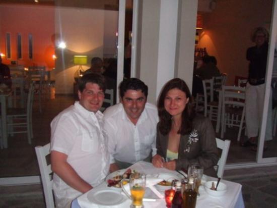 Ammos Hotel: Dinner