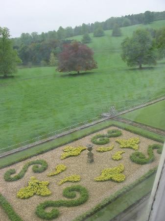 Hassop Hall Hotel: View from our room