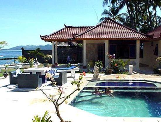 Bali Shangrila Beach Club: A beautiful suite on the sea side