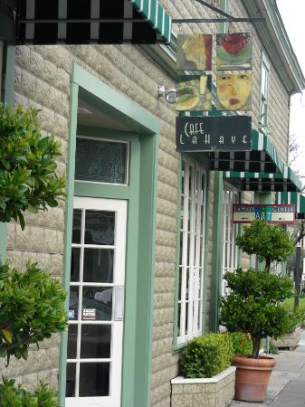 The Charming Cafe La Haye in Sonoma