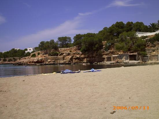Fiesta Hotel Tanit: Beach near to hotel