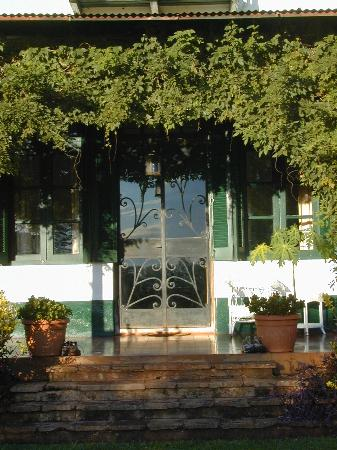 Estancia Santa Cecilia: Estancia Front Door