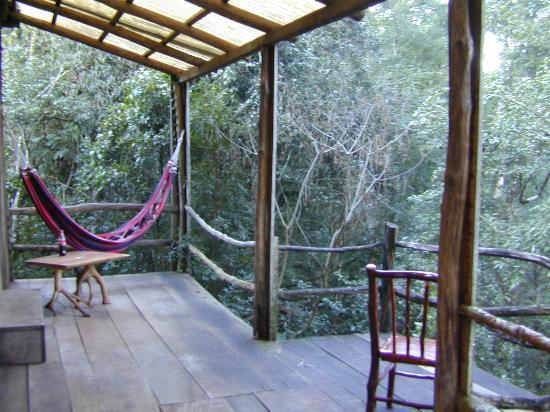 La Bonita Guest House: Cabin veranda