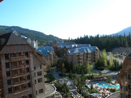 Four Seasons Resort and Residences Whistler: View from the room