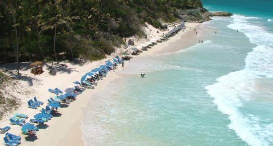 Crane Beach: Wall to wall sunloungers