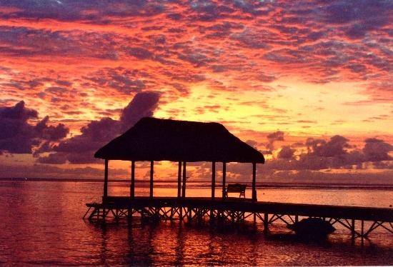 The Oberoi, Mauritius : Amazing sunset 1