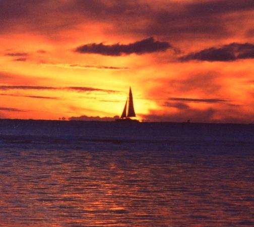The Oberoi, Mauritius: Amazing sunset 2