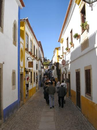 Hotel Real D'Obidos : Main shopping street in Obidos