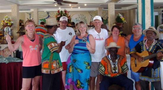 Sandals Montego Bay: A Wild Lunch Party