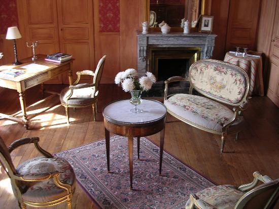 Chateau de Pramenoux : Chambre Rose