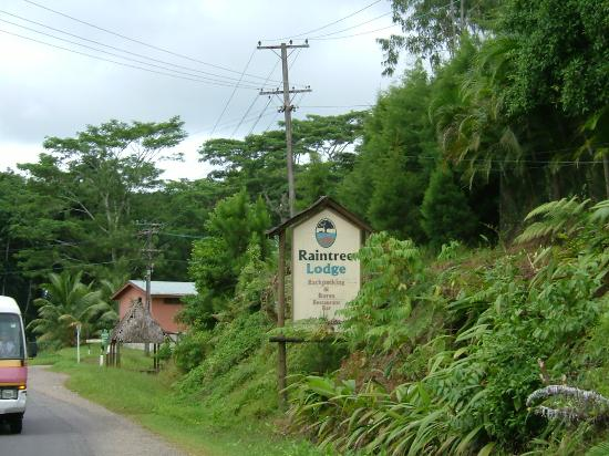 Colo I Suva Rainforest Eco Resort: Sign