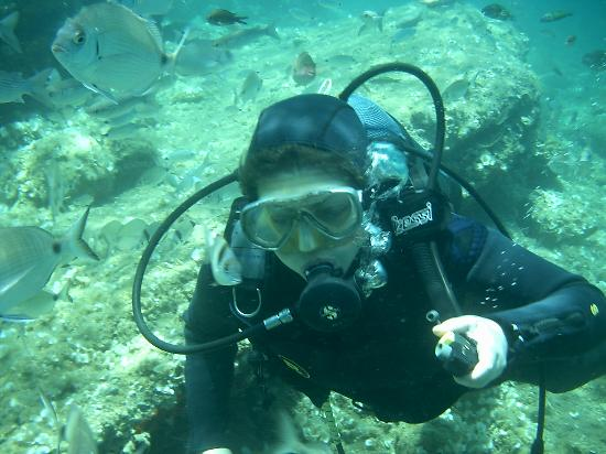 Tamarisk Beach Hotel: me scuba diving