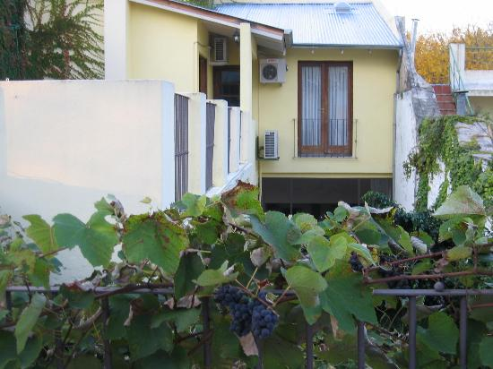 Solar Soler Bed & Breakfast: View from upstairs patio