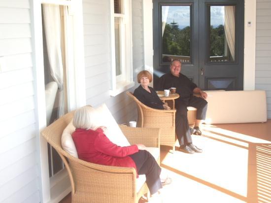 McHardy Lodge : Proprietors, David and Jan