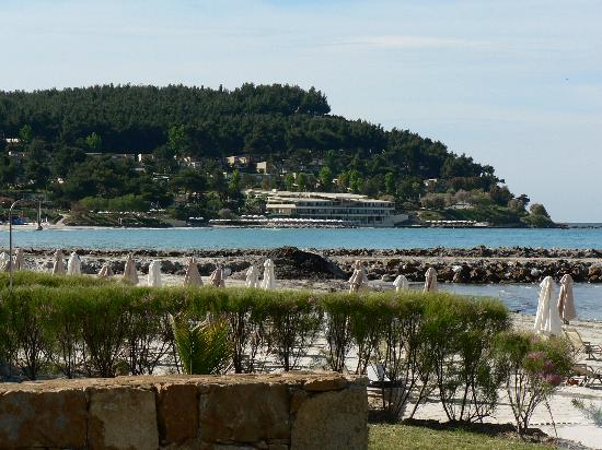 Sani Asterias: View from room to Club House