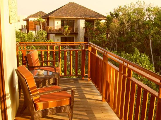 Fairmont Mayakoba: balcony